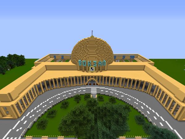 Майнкрафт новые постройки.